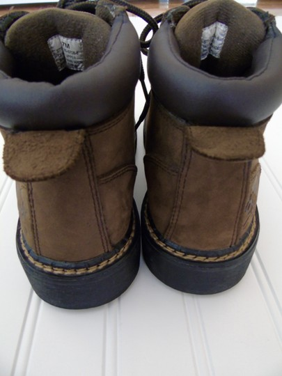 Totes Chunky Hiking Leather Snow Brown Suede Boots