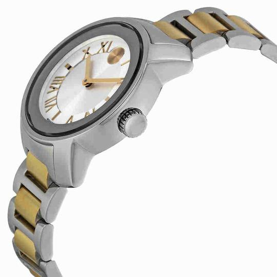 Movado Movado Bold Quartz Silver Dial Two-tone Ladies Watch 3600245