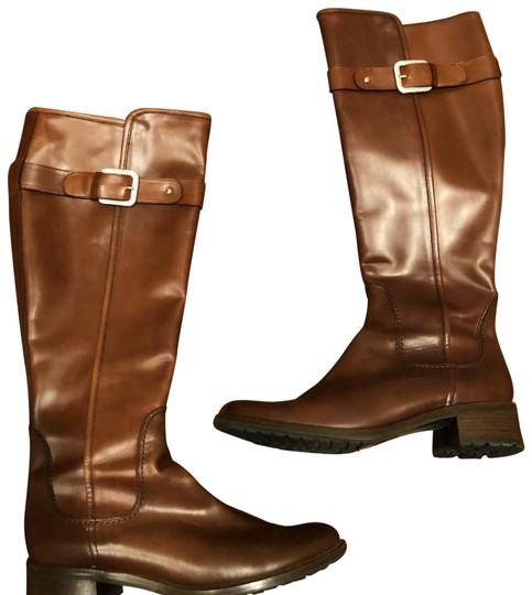 Preload https://img-static.tradesy.com/item/24290682/brown-leather-knee-high-riding-bootsbooties-size-us-75-regular-m-b-0-3-540-540.jpg