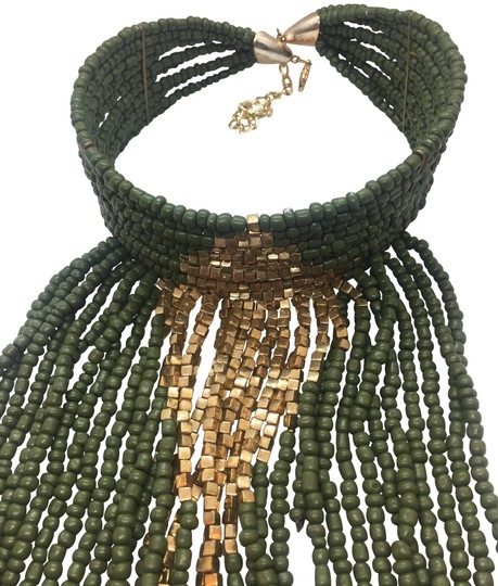 Preload https://img-static.tradesy.com/item/24290685/navy-green-and-gold-plated-multi-layer-statement-choker-euc-necklace-0-3-540-540.jpg