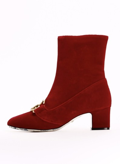 Gucci Gg Holiday Women red Boots
