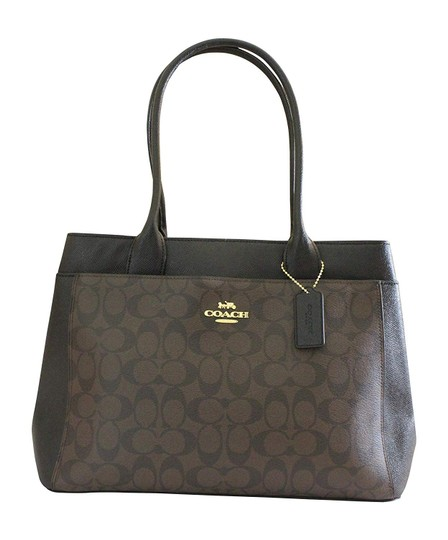 Preload https://img-static.tradesy.com/item/24290708/coach-signature-canvas-casey-tote-handbag-brown-leather-shoulder-bag-0-0-540-540.jpg