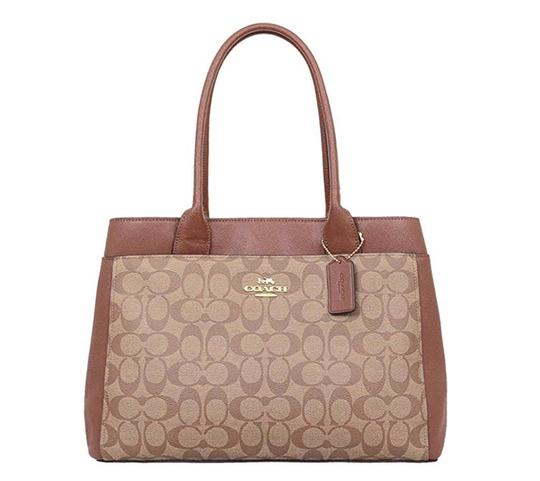 Preload https://img-static.tradesy.com/item/24290721/coach-saddle-f31475-case-tote-in-signature-canvas-khaki-brown-leather-shoulder-bag-0-0-540-540.jpg