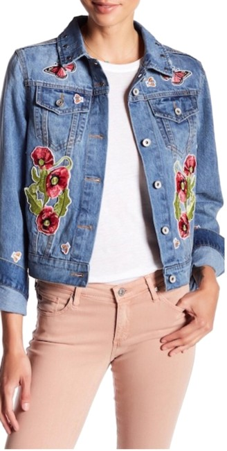 Preload https://img-static.tradesy.com/item/24290727/bagatelle-patch-embroidered-jacket-size-12-l-0-3-650-650.jpg