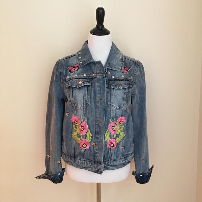 Bagatelle Womens Jean Jacket