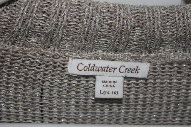 Coldwater Creek Longer Size 14-16 Like New Unique Clasps Cardigan