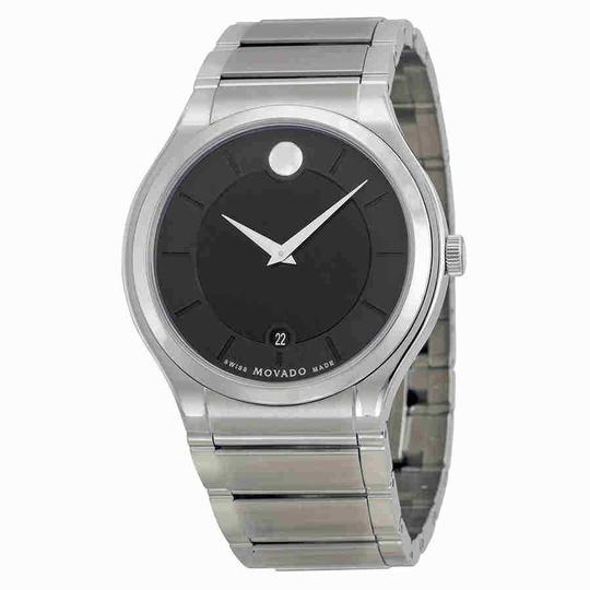 Preload https://img-static.tradesy.com/item/24290730/movado-quadro-black-dial-stainless-steel-men-s-0606478-watch-0-0-540-540.jpg