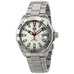 TAG Heuer Tag Heuer Aquaracer Automatic White Lacquered Dial Men's Watch WBD2111