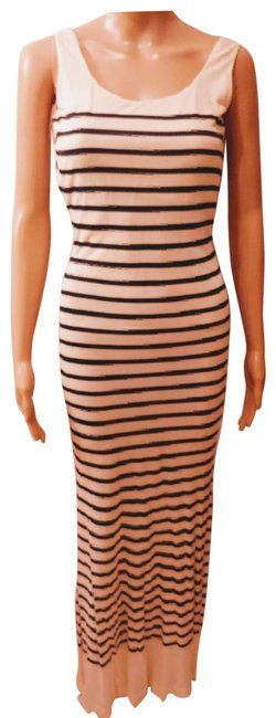 Preload https://img-static.tradesy.com/item/24290756/jean-paul-gaultier-black-and-white-stretch-sleeveless-long-casual-maxi-dress-size-4-s-0-2-650-650.jpg