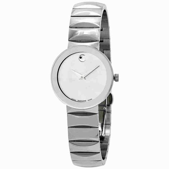 Preload https://img-static.tradesy.com/item/24290759/movado-sapphire-silver-mirror-dial-ladies-0607213-watch-0-0-540-540.jpg