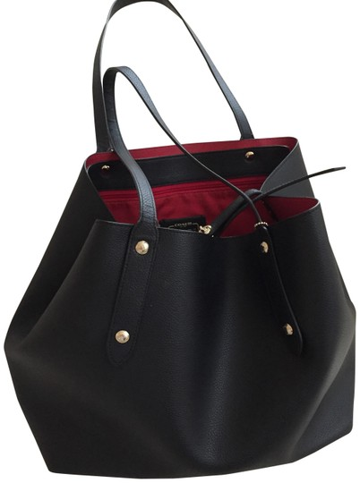 Preload https://img-static.tradesy.com/item/24290764/coach-black-with-red-interior-leather-tote-0-3-540-540.jpg