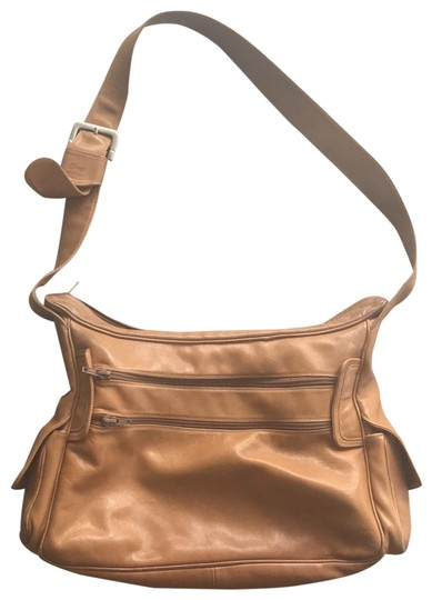 Preload https://img-static.tradesy.com/item/24290773/tan-leather-shoulder-bag-0-3-540-540.jpg