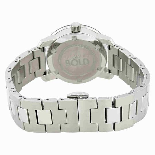 Movado Movado Bold Silver Sunray Dial Stainless Steel Ladies Watch 3600433
