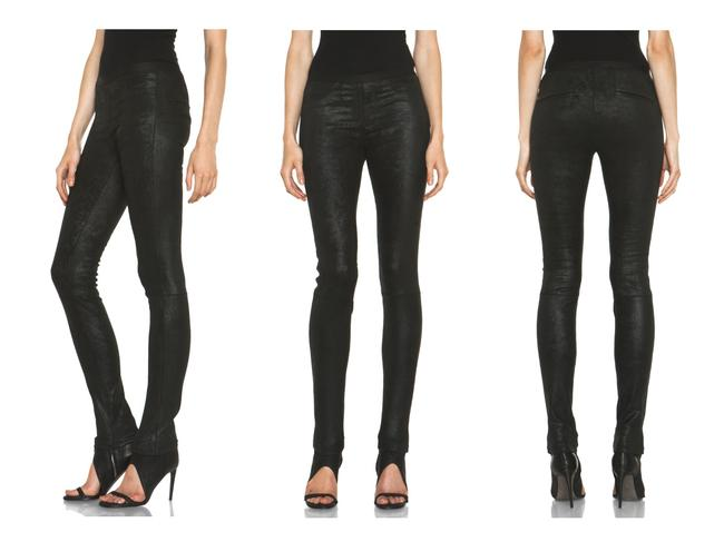 Preload https://img-static.tradesy.com/item/24290791/helmut-lang-black-patina-stretch-leather-leggings-size-2-xs-26-0-0-650-650.jpg