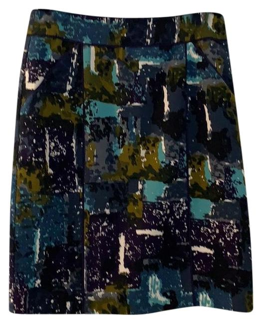 Item - Multi. Purple Army Green Gray Tabitha Skirt Size 8 (M, 29, 30)
