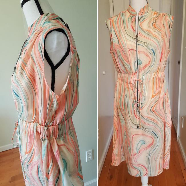 Marble Print Maxi Dress by Etienne Aigner