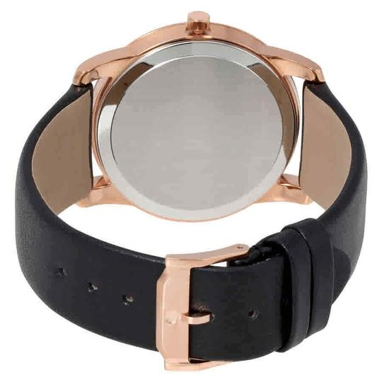 Movado Movado Museum Classic Black Dial Men's Leather Watch 0607078