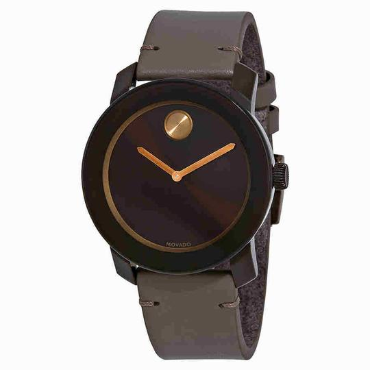 Preload https://img-static.tradesy.com/item/24290835/movado-bold-brown-sunray-dial-grey-leather-men-s-3600455-watch-0-0-540-540.jpg