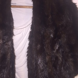 Real Red Fox Fur Stole Cape