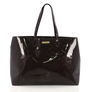 Louis Vuitton Leather Tote in amarante