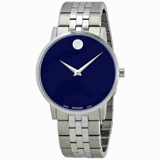 Movado Movado Museum Classic Blue Dial Men's Watch 0607212