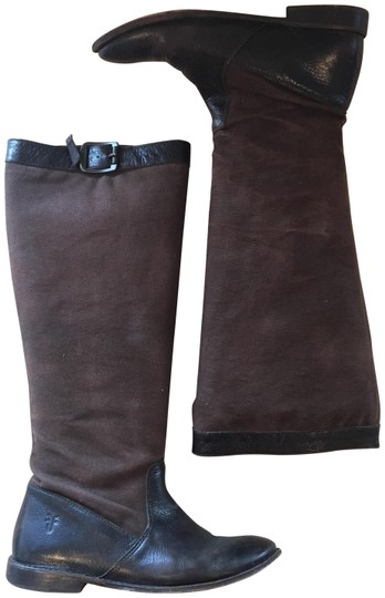 Preload https://img-static.tradesy.com/item/24290901/frye-brown-paige-leather-and-canvas-riding-bootsbooties-size-us-6-regular-m-b-0-3-540-540.jpg
