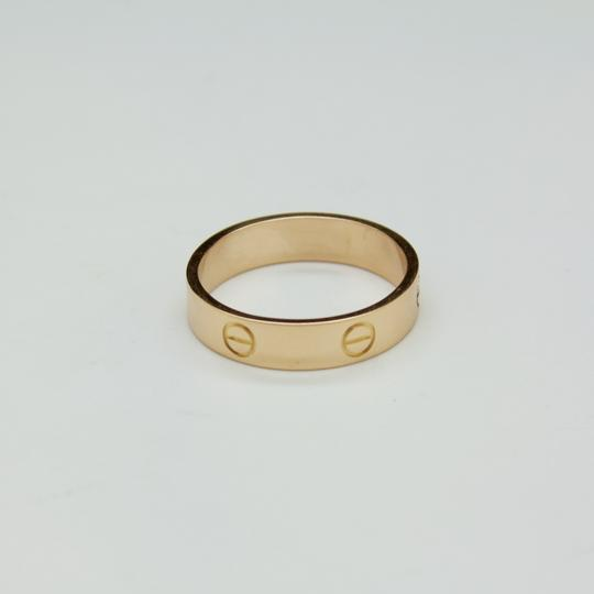 Cartier CARTIER LOVE Wedding Band 18K Rose Gold 5mm Ring