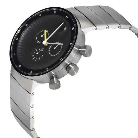 Movado Movado Edge Chronograph Black Dial Stainless Steel Men's Watch 3680009