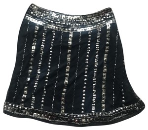 Angie Mini Skirt black/gold