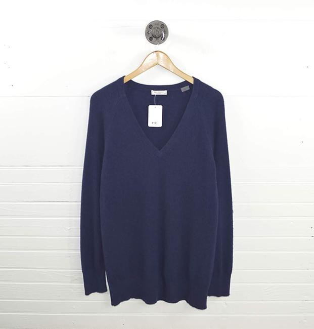 Preload https://img-static.tradesy.com/item/24290923/equipment-cashmere-131-121-navy-sweater-0-2-650-650.jpg