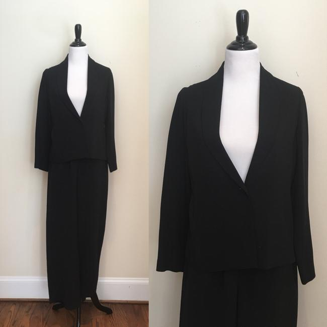 Preload https://img-static.tradesy.com/item/24290930/eileen-fisher-black-classic-pant-suit-size-6-s-0-2-650-650.jpg