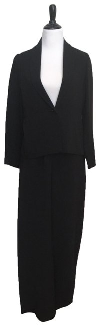 Preload https://img-static.tradesy.com/item/24290930/eileen-fisher-black-classic-pant-suit-size-6-s-0-3-650-650.jpg