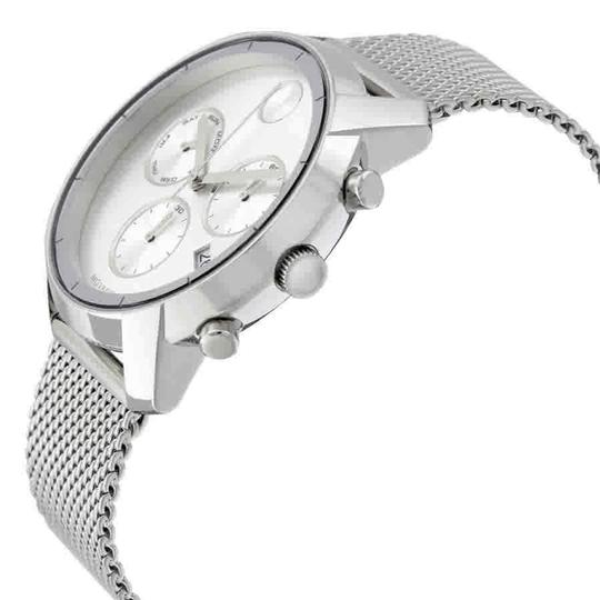 Movado Movado Bold Silver Dial Stainless Steel Men's Watch 3600371