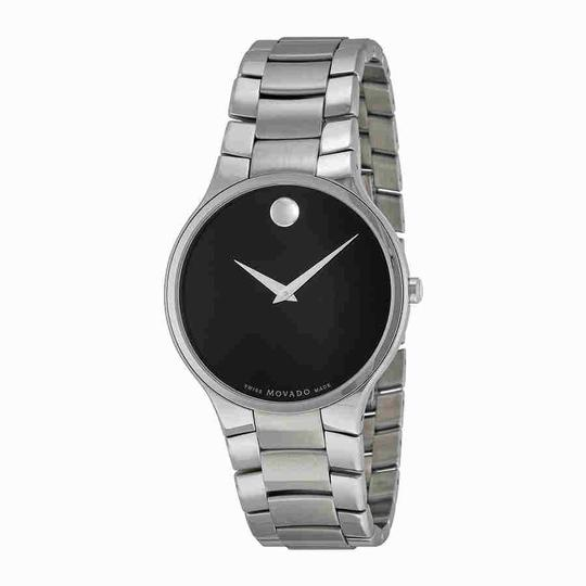 Preload https://img-static.tradesy.com/item/24291006/movado-serio-black-dial-stainless-steel-men-s-0606382-watch-0-0-540-540.jpg