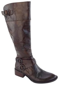 Crown by Børn Riding Lira Roxie Distressed Brown Boots