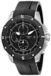 Tissot T-Navigator Automatic Chronograph Date Dial Men's Rubber Watch