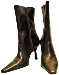 Gianni Bini New In Box Ships Prioriy Mail BRONZE/BROWN Boots