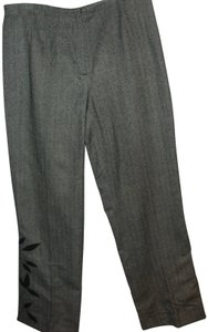 Focus 2000 Retro Graphic Art Deco Vintage Work Trouser Pants black