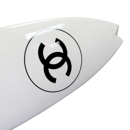 Chanel Surfboard x Philippe Barland Limited Blanc Edition Fiber Surf LT 1/500