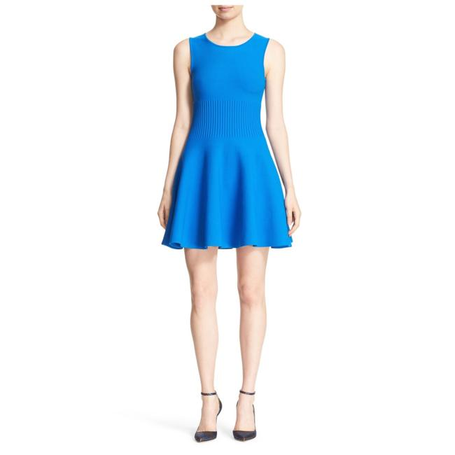 Item - Azure Structured Stretch Swing Short Night Out Dress Size 4 (S)