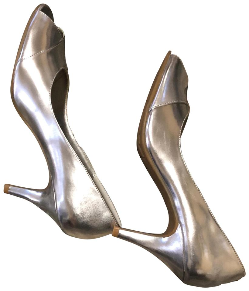 6b2ed1f49dc Kenneth Cole Reaction Grey   Silver Heather Pumps Size US 7.5 ...