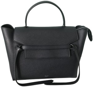 Céline Satchel in Dark Navy Blue