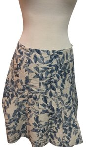 Ann Taylor Skirt Blue/cream