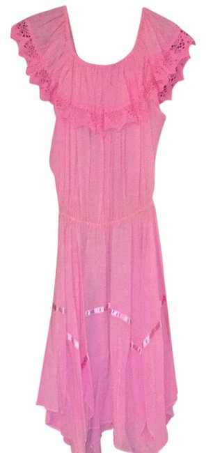Pink Maxi Dress by No Tag Image 0