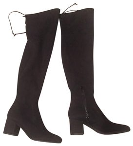 7e3ae1f24b8 Unisa New Comfortable Suede-like Material Hot black Boots - item med img