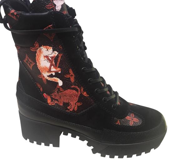 Louis Vuitton Black with Red Cats