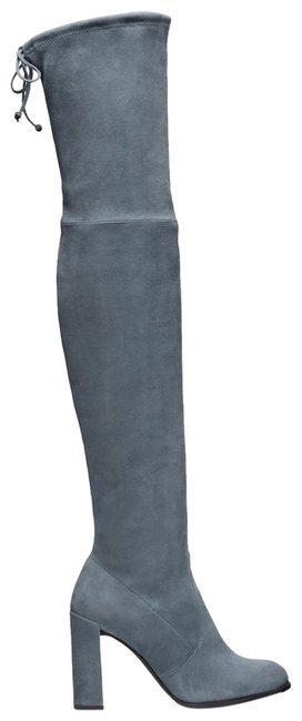 Item - Denim Blue Over-the-knee Boots/Booties Size US 7 Regular (M, B)