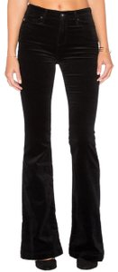 AG Adriano Goldschmied Velvet Maximalism Bottoms Flare Leg Jeans-Coated