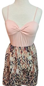 Silence + Noise short dress Pink Twisted on Tradesy