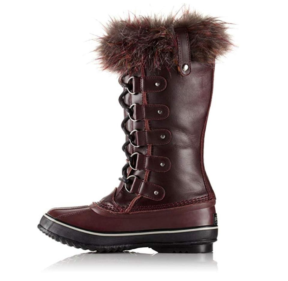 3e682a9ad Sorel Rich Wine/Black Joan Of Arctic Lux Boots/Booties Size US 9.5 ...